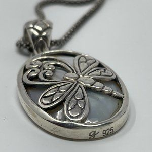 Samuel B. Butterfly Pendent With Chain
